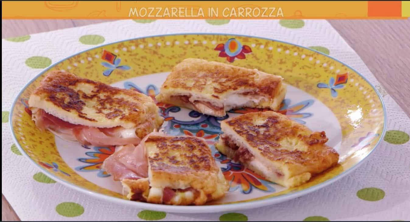 Mozzarella in carrozza di Anna Moroni, le Ricette all'italiana