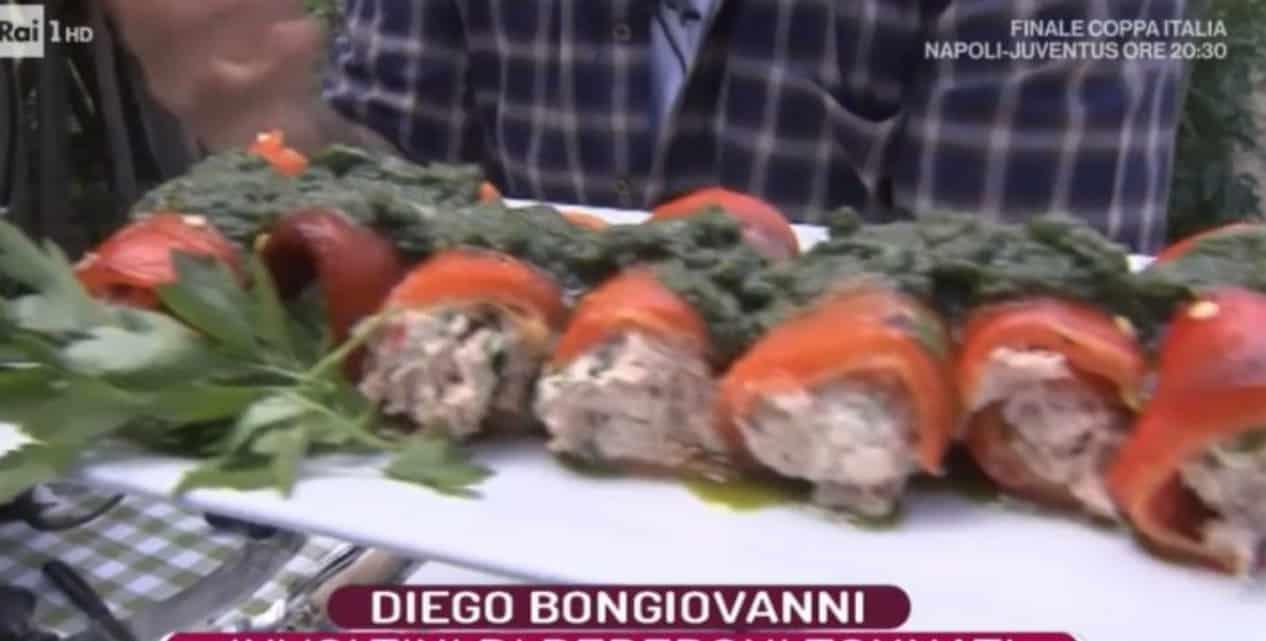 La prova del cuoco: gli involtini di peperoni tonnati di Diego Bongiovanni