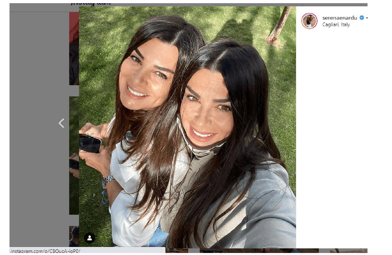 Botta e risposta sui social tra Karina Cascella e le sorelle Enardu: guerra a distanza