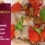 Franco Marino prepara i rigatoni alla puttanesca, la ricetta veloce e golosa