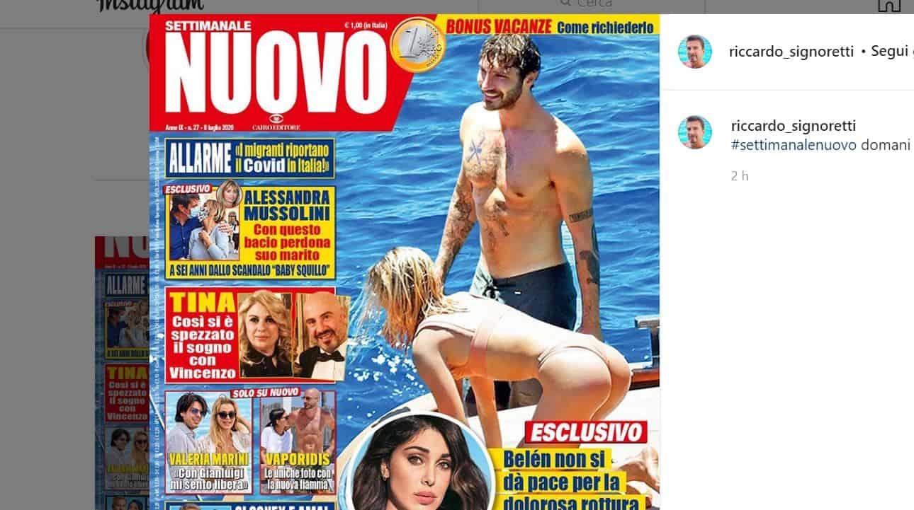 Stefano de Martino avvistato in barca con una bionda: le foto da Nuovo