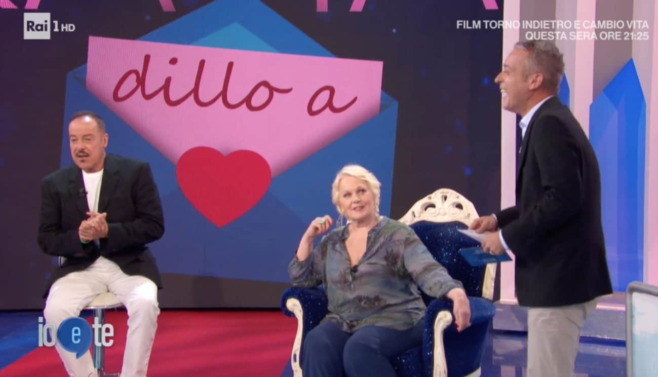 A Io e Te la difesa di Massimo Lopez per Diaco che gli lascia il posto (Foto)