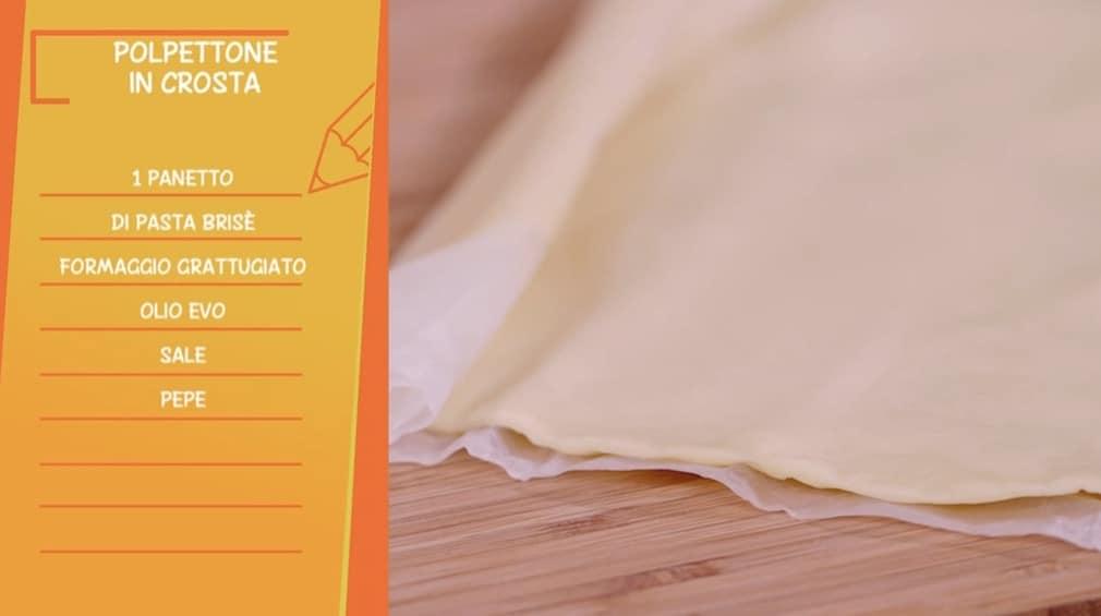 La ricetta del polpettone in crosta di Anna Moroni per le Ricette all'italiana