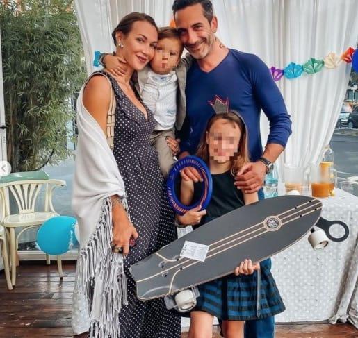 Ludmilla Radchenko e Matteo Viviani, incidente al compleanno della figlia per una brutta caduta (Foto)