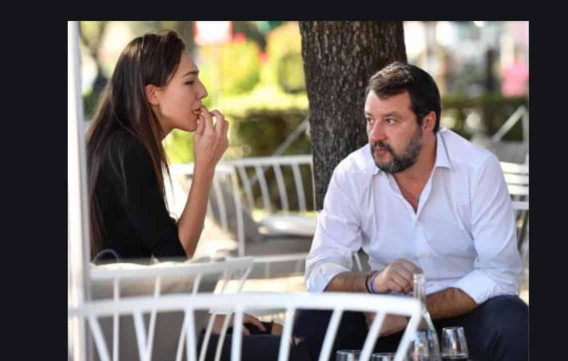 Francesca Verdini pazza di Matteo Salvini non lo molla un attimo (Foto)