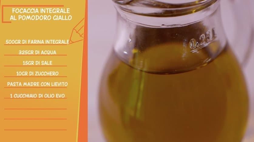 Ricette all'italiana: la focaccia integrale al pomodoro giallo di Ciro e Anna Moroni