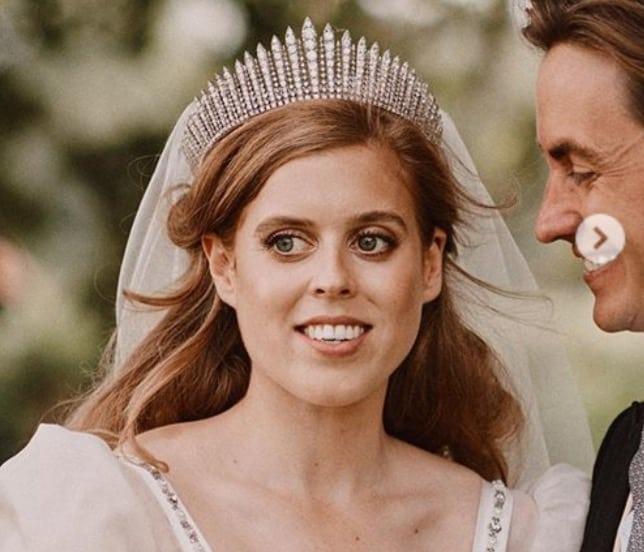 Dall'abito da sposa di Beatrice di York ai dettagli di un matrimonio reso unico dalla Regina (Foto)