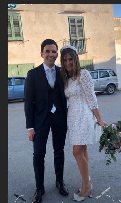 Le sorelle Balivo al matrimonio di Sarah, un ricevimento che incanta per allegria e bellezza (Foto)