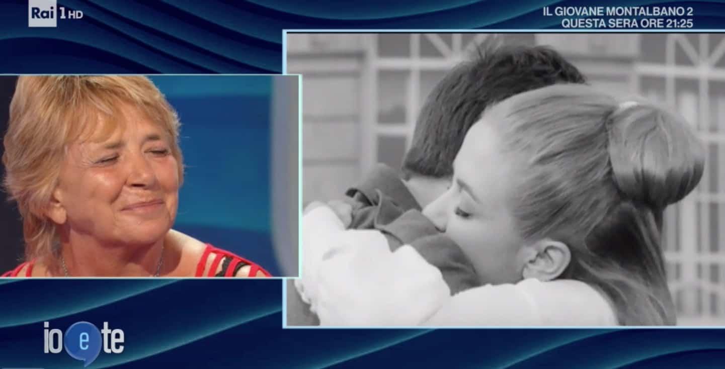 Laura Efrikian a Io e Te: la sua famiglia allargata, tenera ricorda l'amore per Gianni Morandi (Foto)