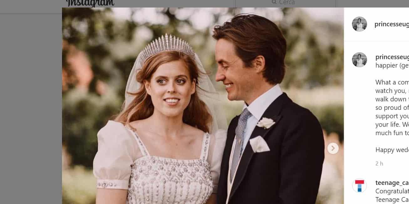 Gli auguri della principessa Eugenie a Beatrice  sono social e anche informali (FOTO)