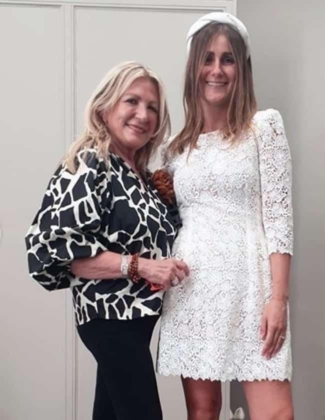 """L'abito da sposa di Sarah Balivo, Pinella Passaro svela che è un vestito """"due in uno"""" (Foto)"""