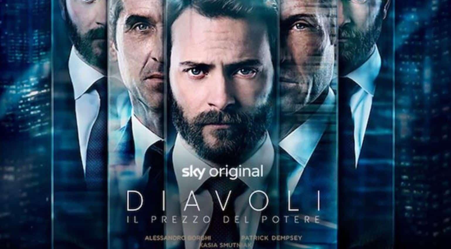 Sky conferma la seconda stagione di Diavoli: Massimo Ruggero e Dominic Morgan protagonisti