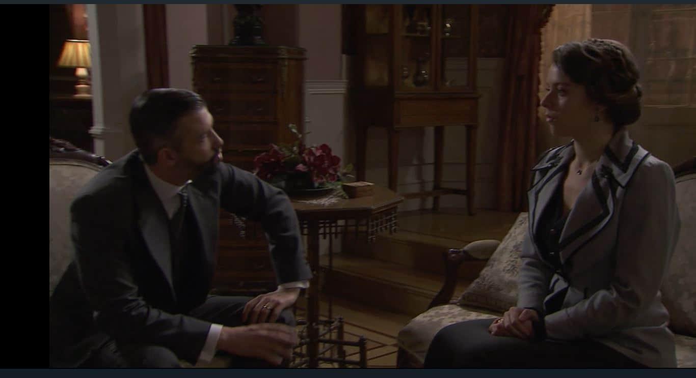 Una vita anticipazioni: Felipe indaga ancora su Genoveva ma lei trama con Alfredo
