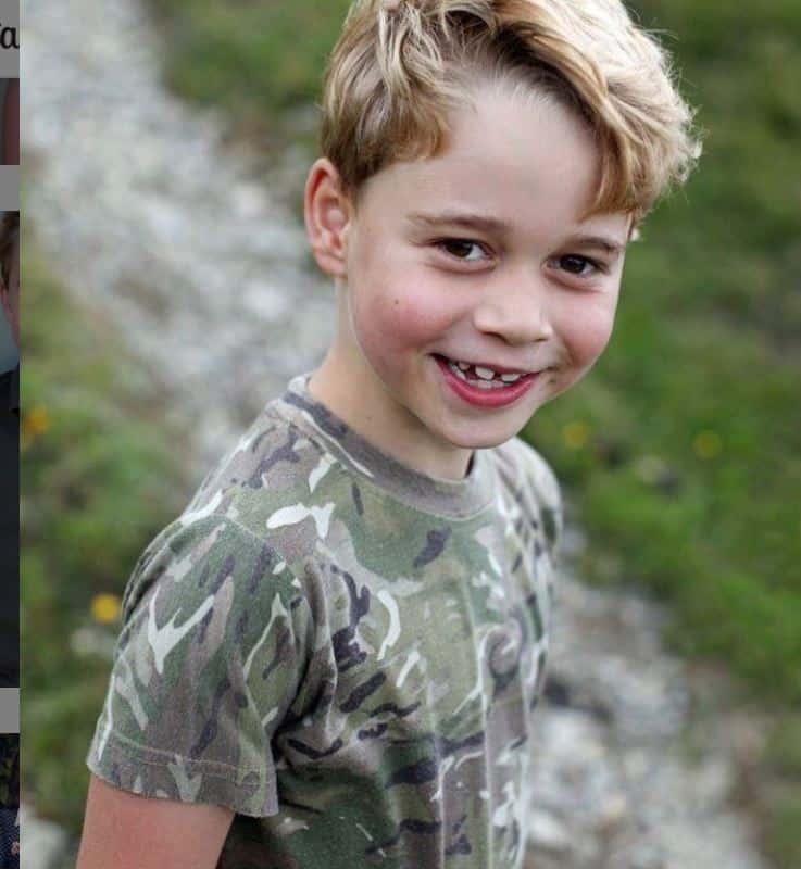 Buon compleanno George: Kate scatta le foto e il principe veste come William alla sua età