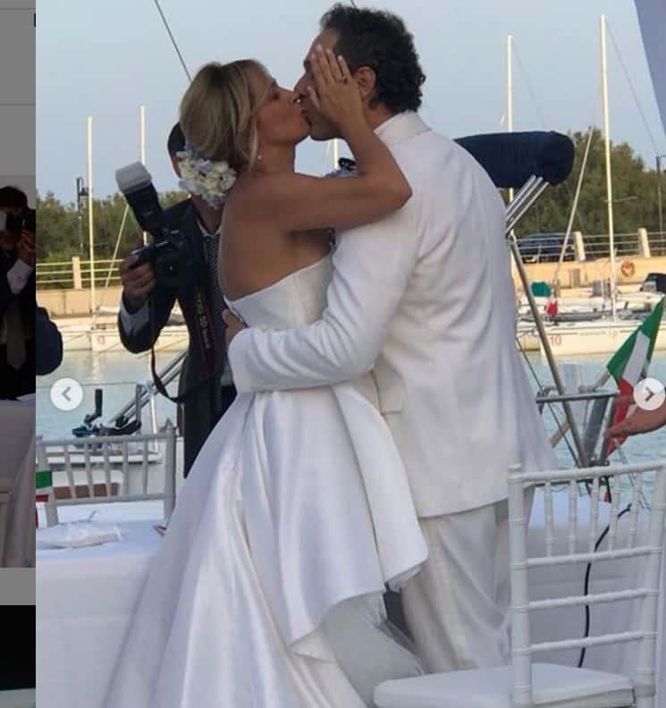 Anniversario di matrimonio per Francesca Barra e Claudio Santamaria: le foto più belle sui social