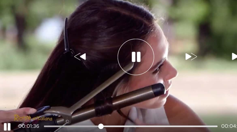 Acconciatura a onde, Antonio Savarese ci mostra come lavorare i capelli con il ferro (Foto)