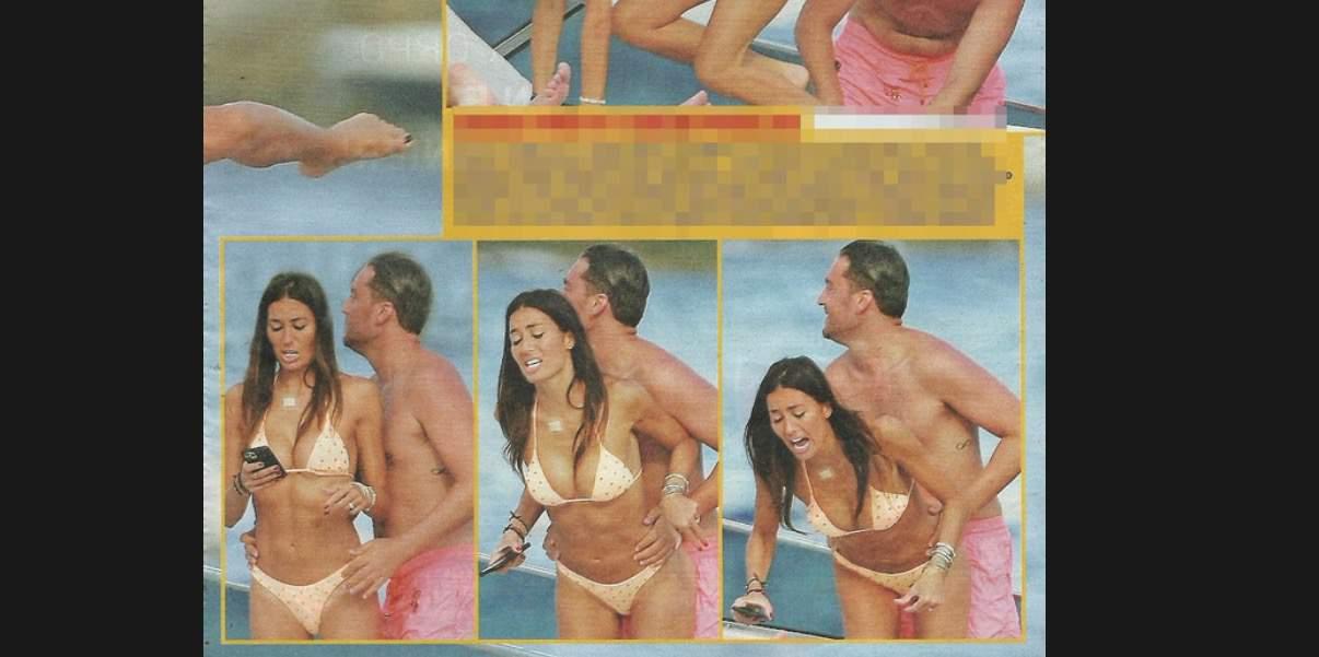 Elisabetta Gregoraci in barca con un amico, che risate con le sue mosse (Foto)
