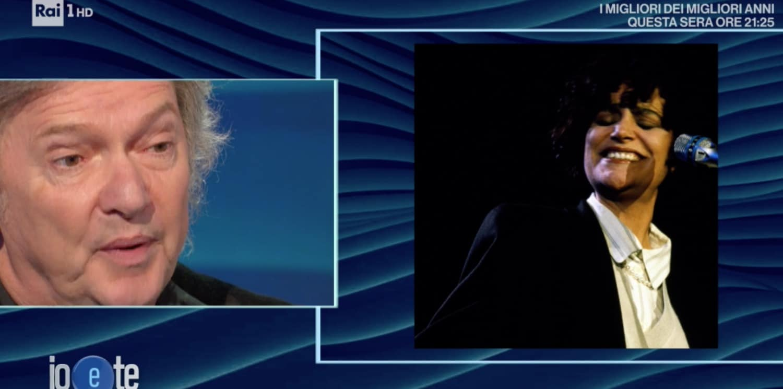 Mia Martini, la confessione di Red Canzian ricordando a Io e Te di una serata in tv (Foto)