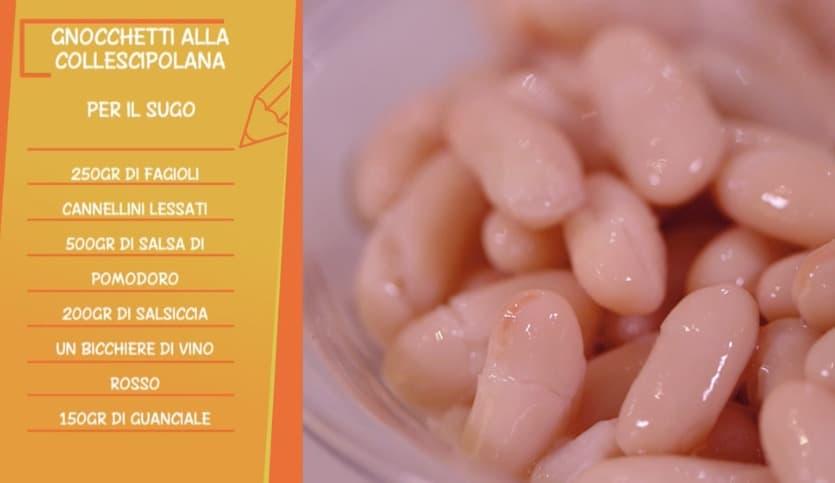 Anna Moroni cucina gli gnocchetti alla collescipolana da Ricette all'italiana