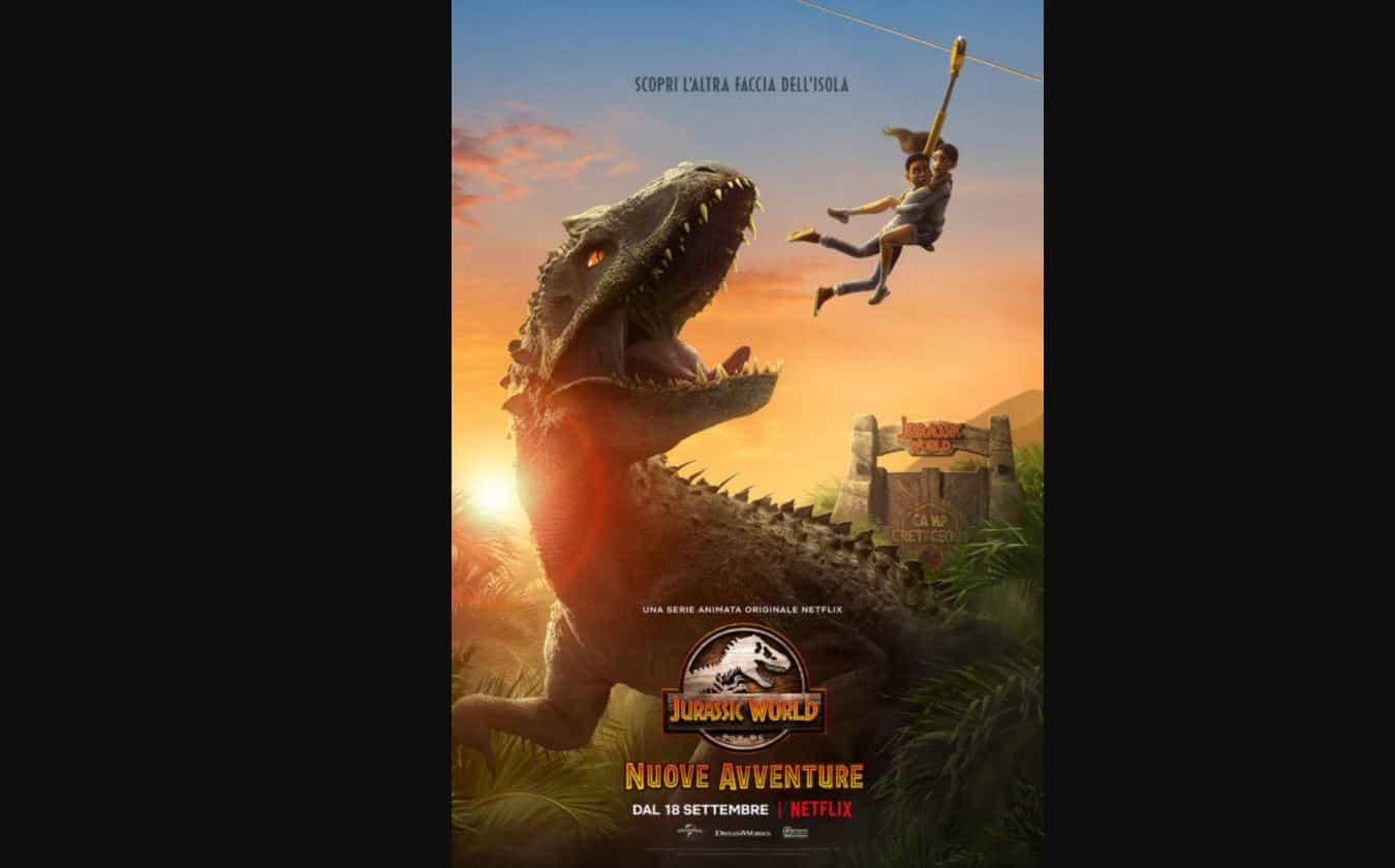 Jurassic World: Nuove avventure  da settembre su Netflix