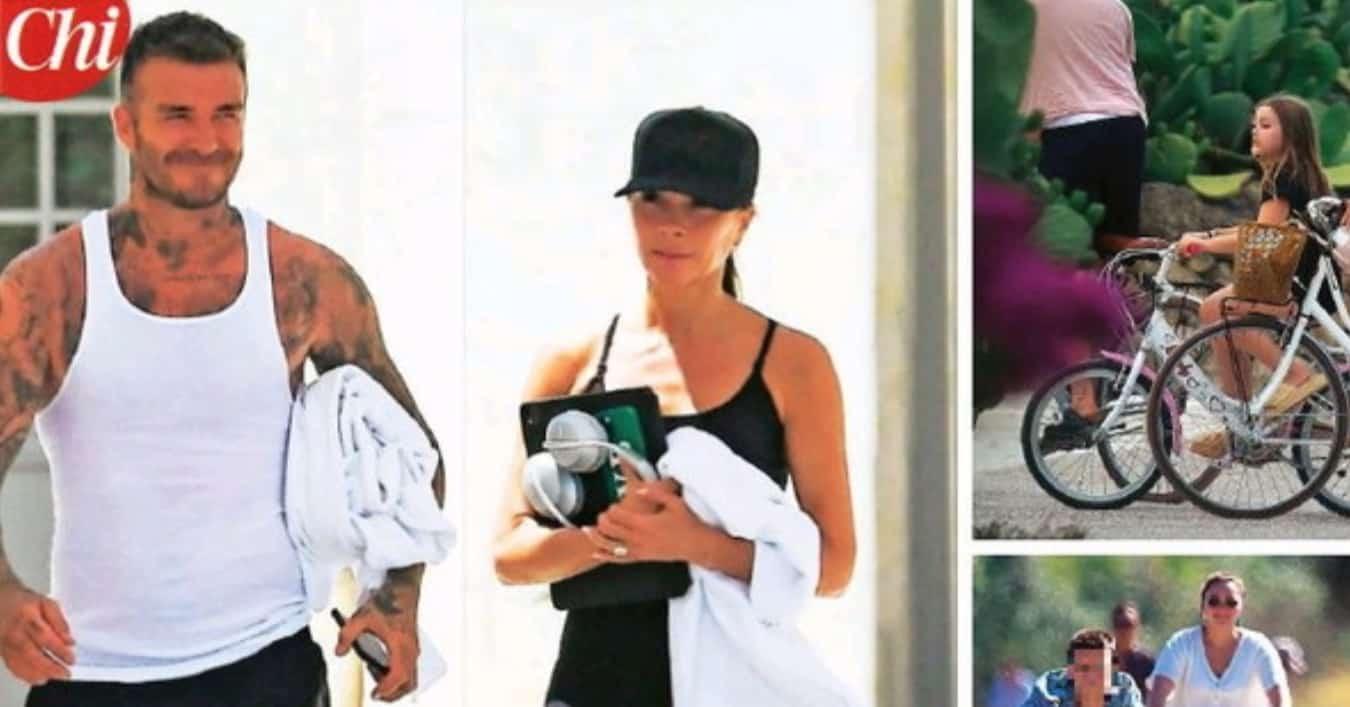 Victoria e David Beckham in Puglia si godono un resort extralusso con tutta la famiglia (Foto)