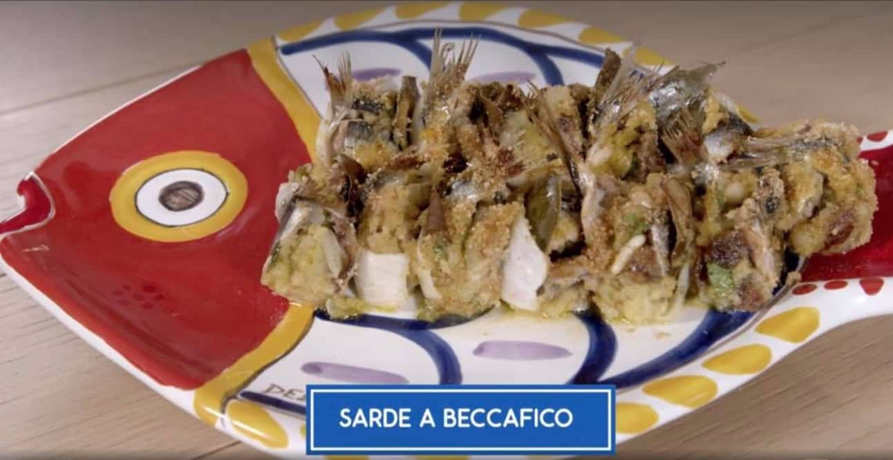 Giusina in cucina con la ricetta delle sarde a beccafico, un grande classico