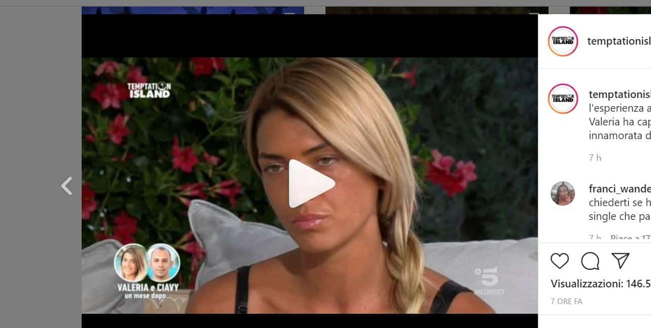 Temptation Island 2020: Chavy rivuole Valeria, lei non lo ama
