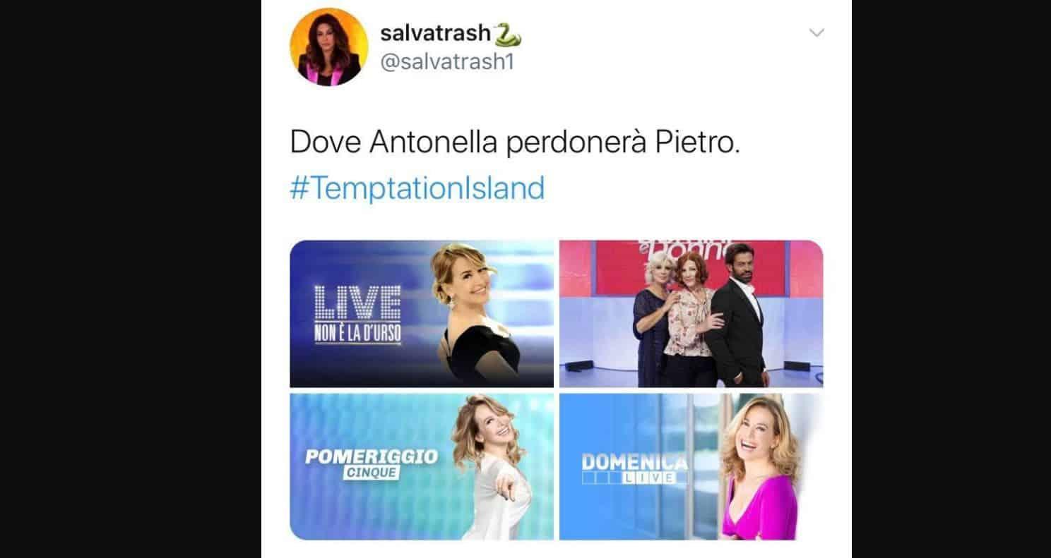 Dall'Elia Me te magno al Pietro in ginocchio da te: Antonella Elia pronta per un autunno televisivo infuocato