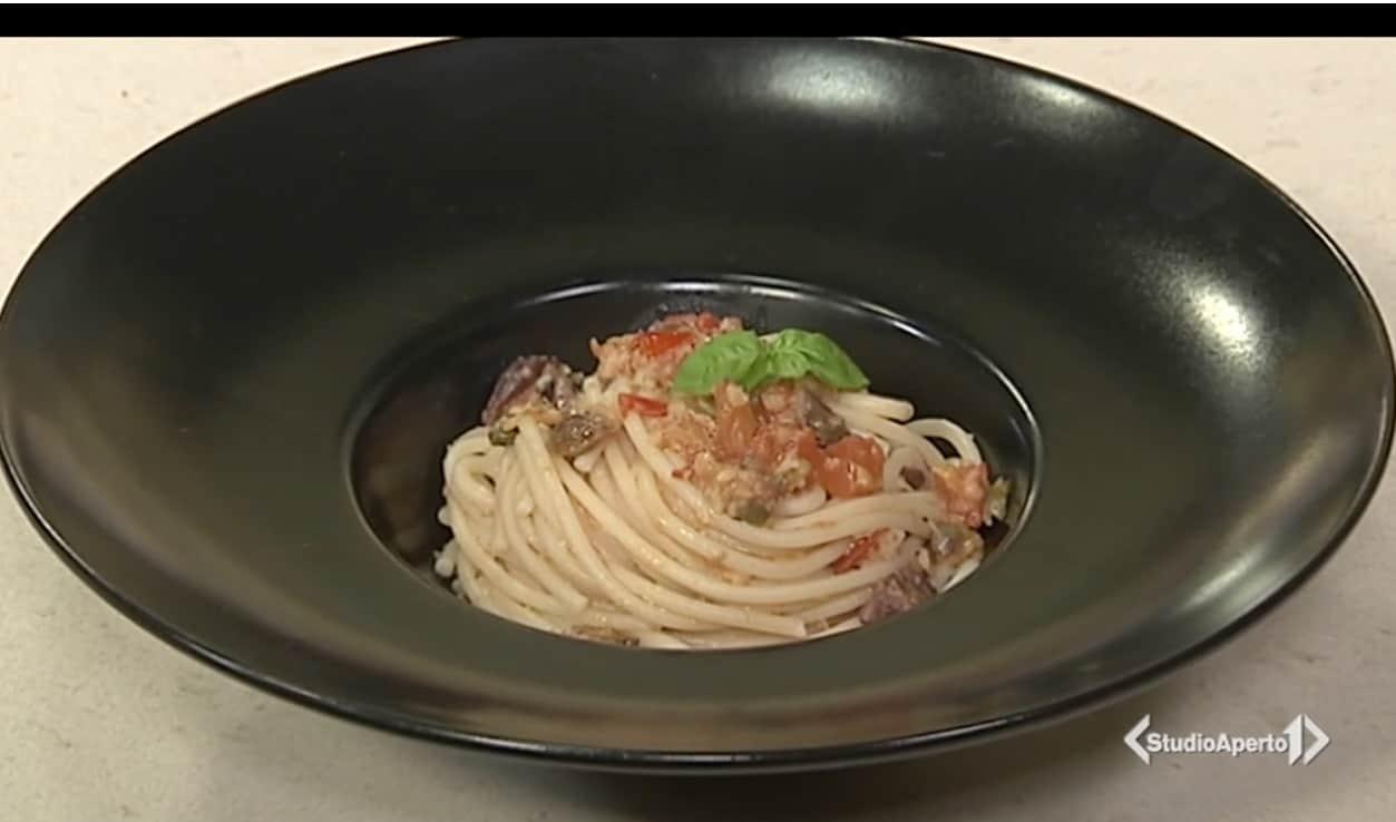 Cotto e Mangiato, la ricetta della pasta ai profumi del Sud