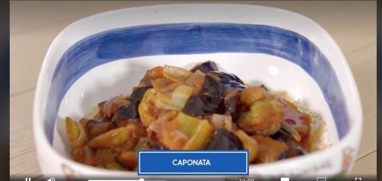 Giusina in cucina, la ricetta della caponata palermitana
