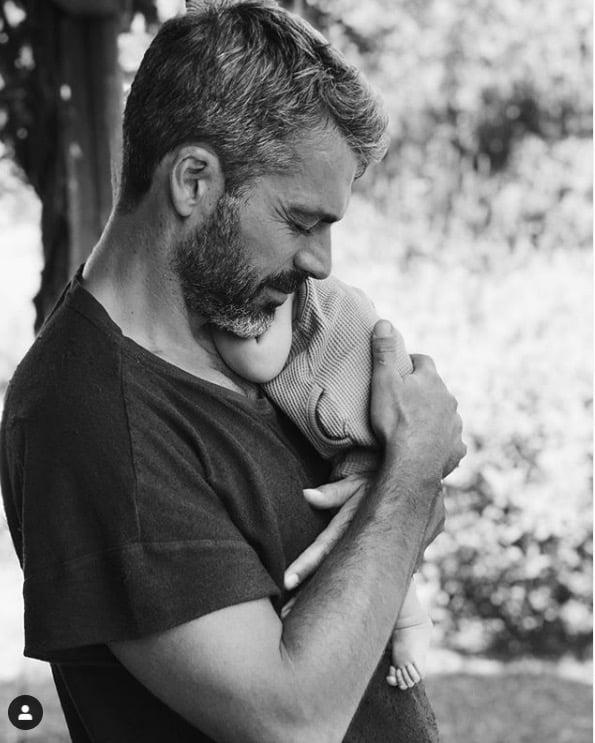 Luca Argentero risponde a Cristina Marino dopo la dolcissima foto con la figlia Nina