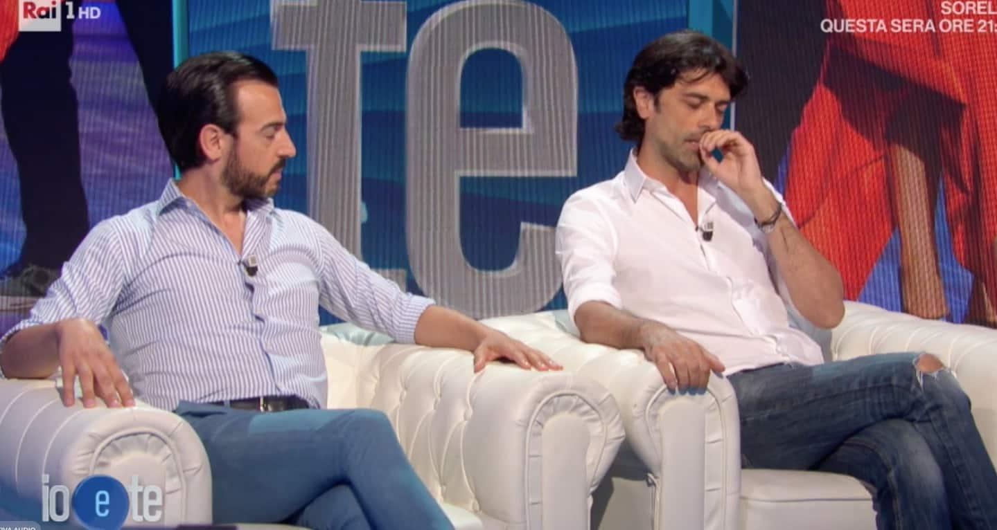 L'emozione di Gigi e Ross ricordando Massimo Troisi a Io e Te