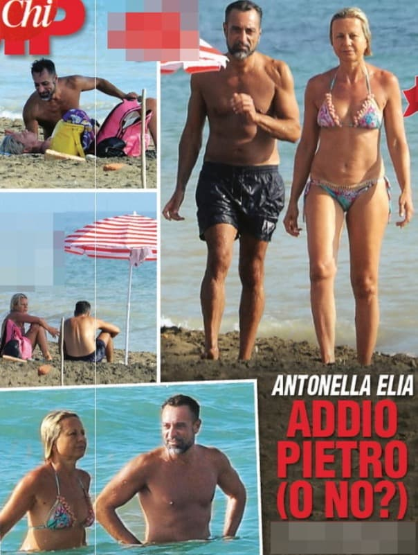 Antonella Elia e Pietro beccati al mare insieme, spiaggia libera ma anche relazione libera? (Foto)