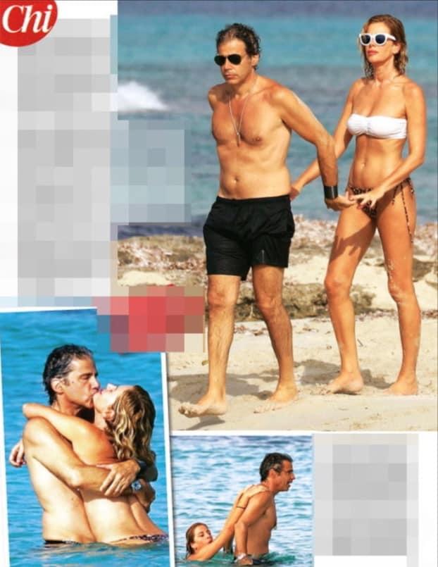 Alessia Marcuzzi e il marito niente fisici perfetti ma un amore che dura e a prova di pettegolezzi (Foto)