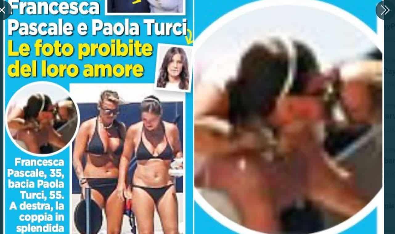 Francesca Pascale e Paola Turci: su Oggi le foto del bacio dopo la fine della storia con Berlusconi