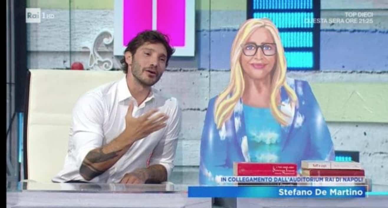 Stefano De Martino a Domenica In: Mara Venier ha fatto il suo nome? (Foto)