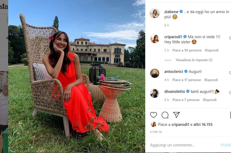 Per Benedetta Parodi compleanno sul set di Bake Off Italia in attesa di un settembre spumeggiante