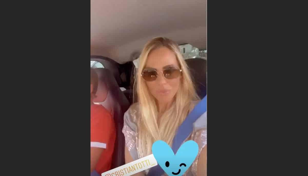 Cristian Totti alla guida con Ilary Blasi accanto, ma quanti anni ha suo figlio? (Foto)