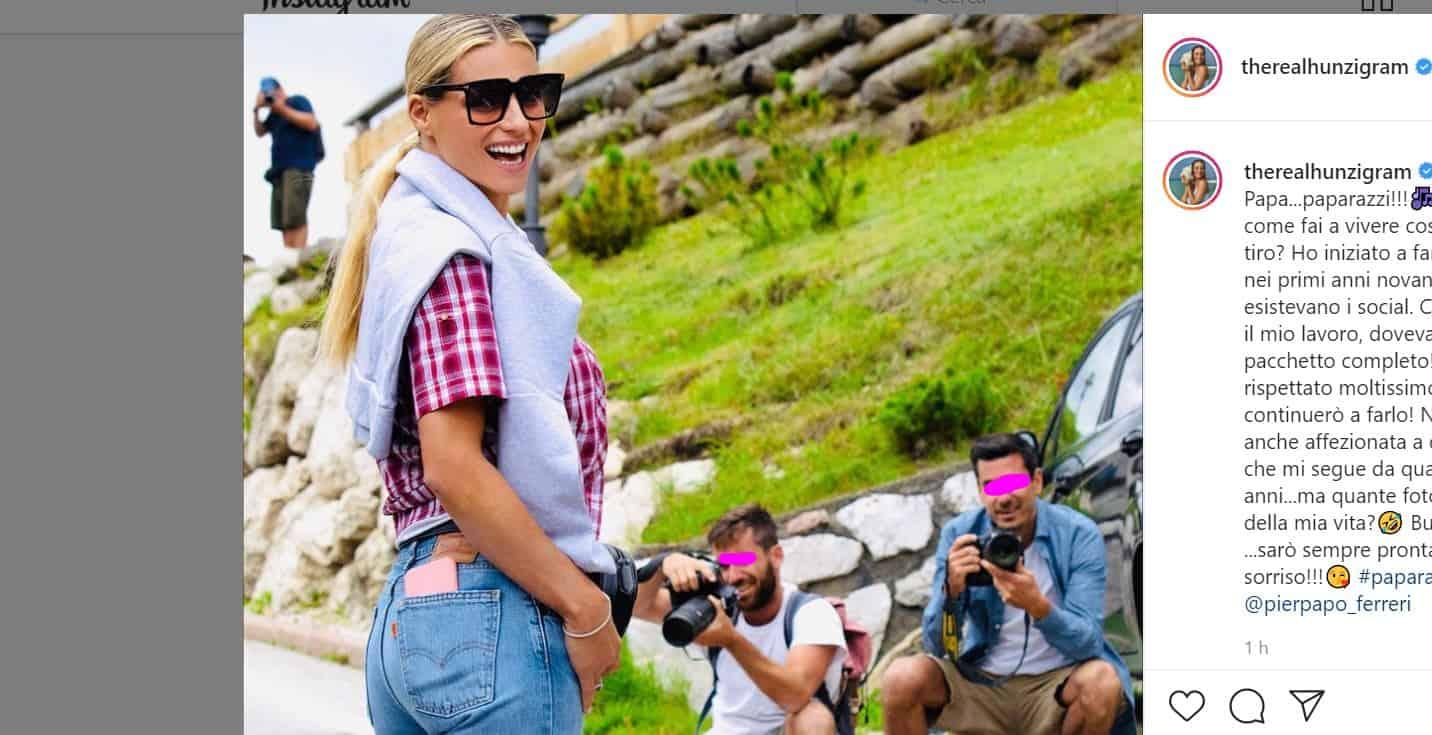Michelle Hunziker assediata dai paparazzi affronta tutto con il sorriso, come sempre