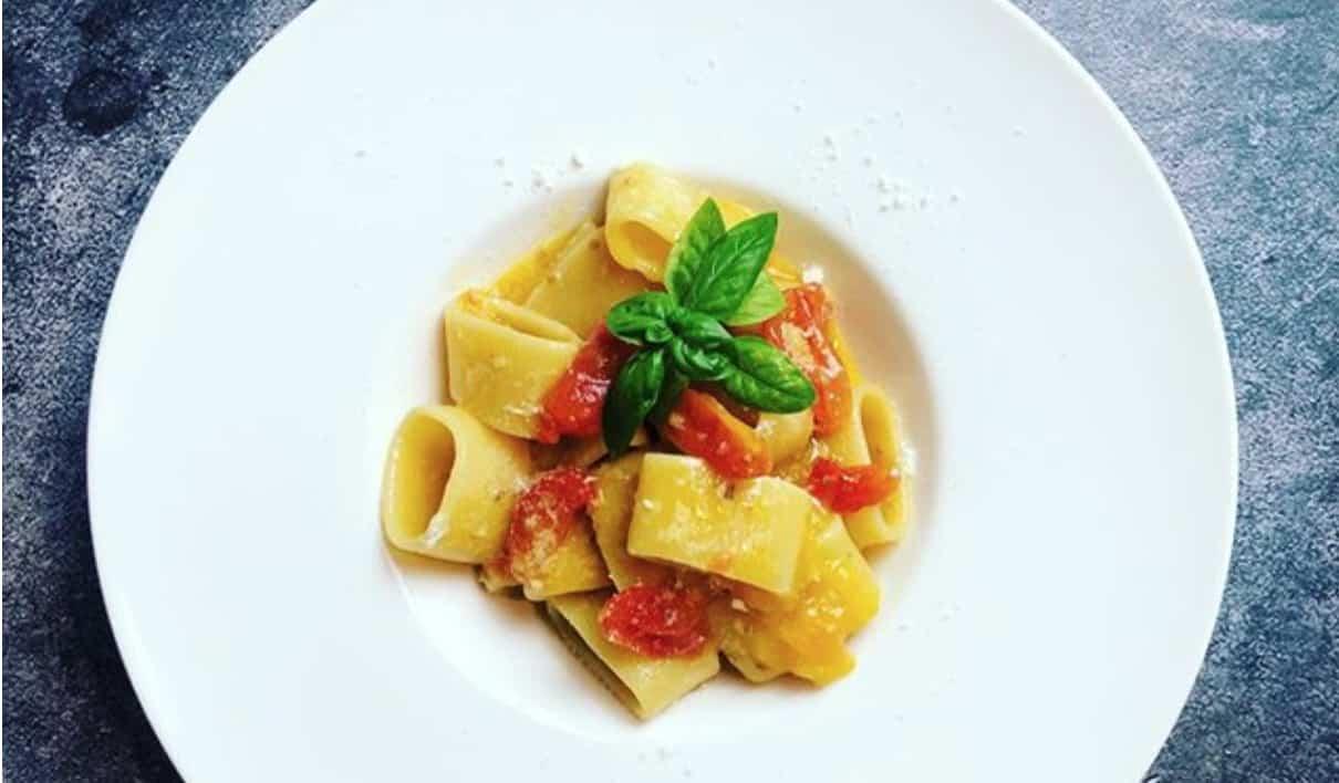 Pasta al pomodoro speciale, la ricetta di Diego Bongiovanni