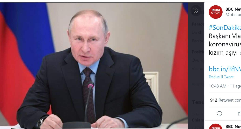 Coronavirus, la Russia registra il primo vaccino: la figlia di Putin tra i primi a testarlo