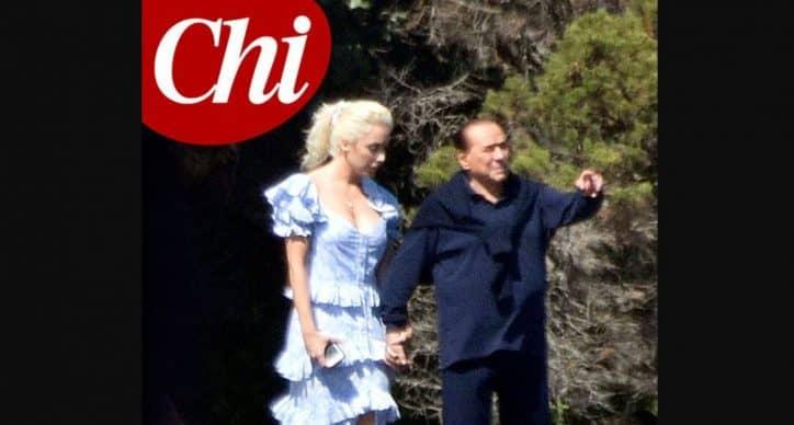 Silvio Berlusconi e Marta Fascina, le foto in vacanza mano nella mano