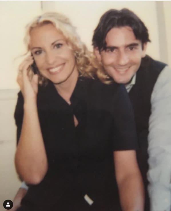 """La foto di Antonella Clerici e l'autore tv 20 chili fa: """"Ma siamo ancora qua"""""""