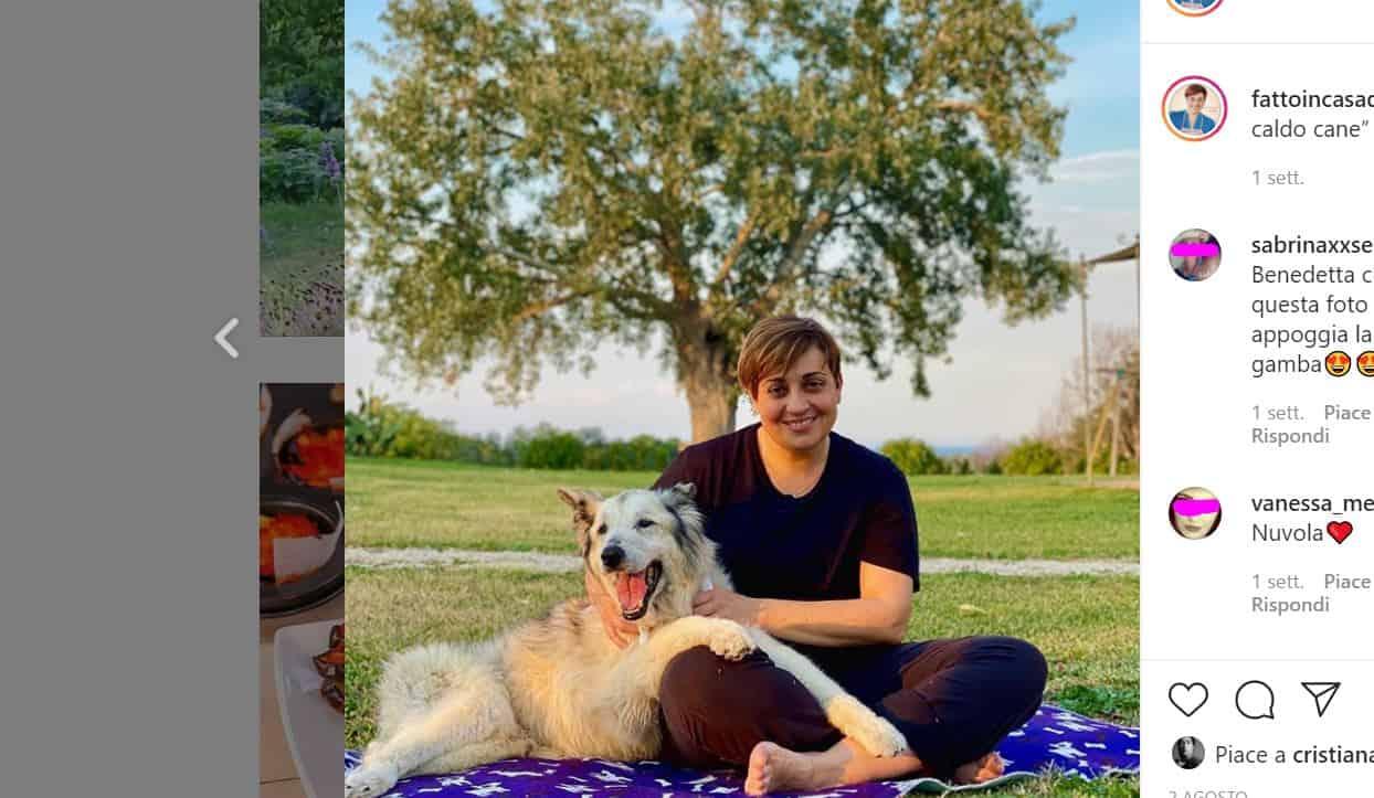 Nuvola non ce l'ha fatta: il doloroso addio di Benedetta Rossi al suo cucciolone