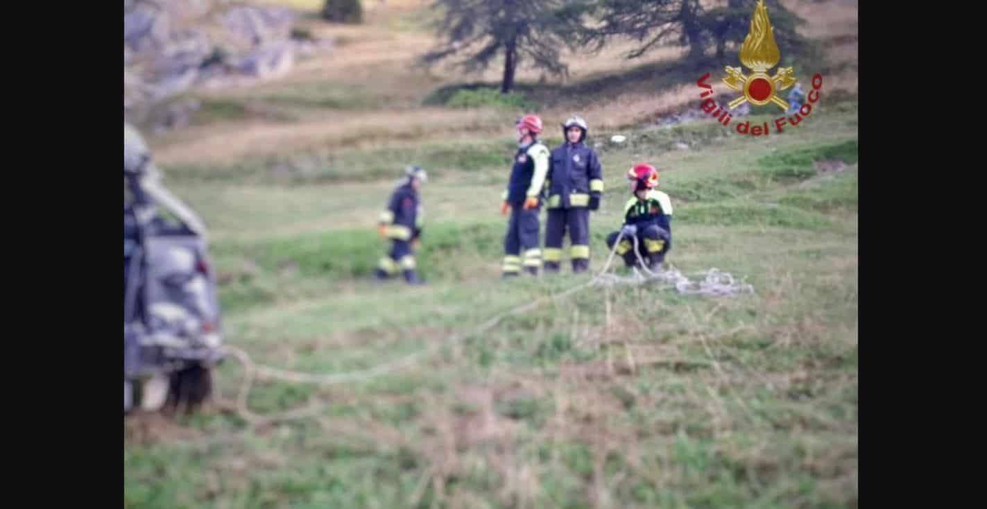 Drammatico incidente a Castelmagno: morti in 5 tutti giovanissimi, il più piccolo 11 anni