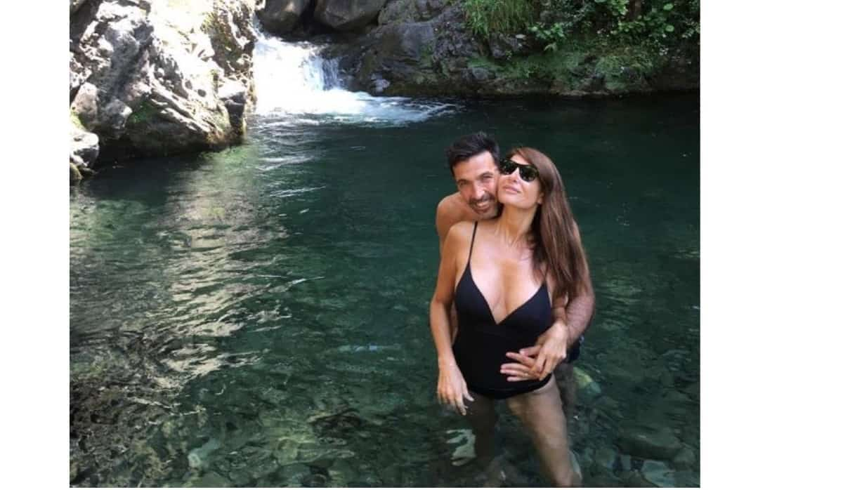 Le vacanze di Ilaria D'Amico e Gigi Buffon con i figli per festeggiare le nozze? (Foto)