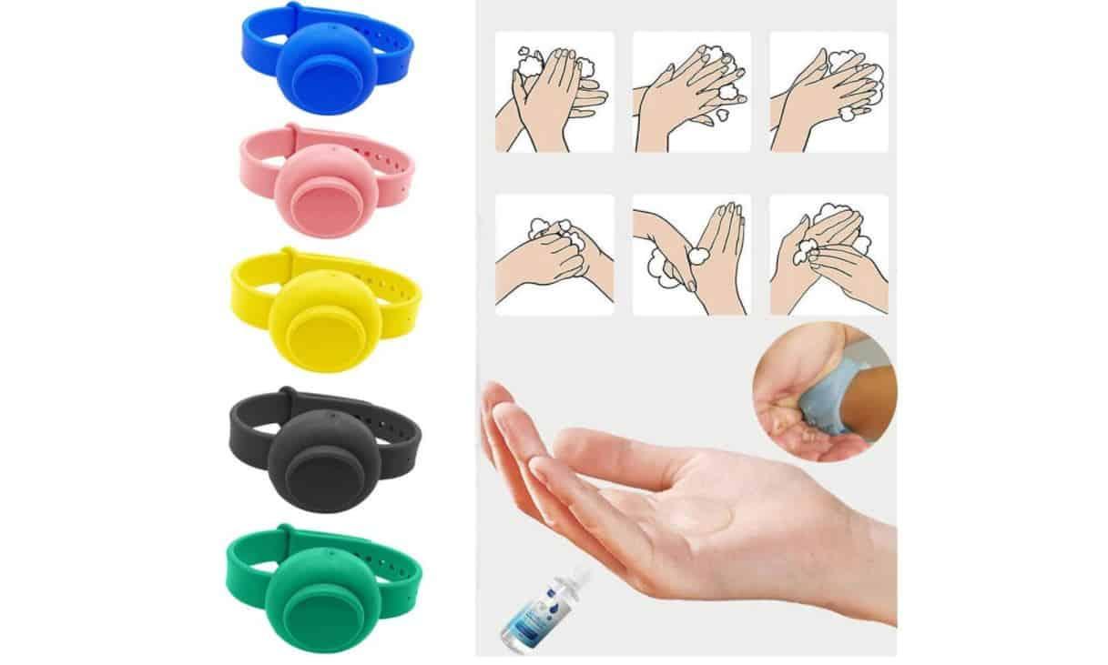 Il braccialetto disinfettante è  il nuovo oggetto del desiderio: i modelli