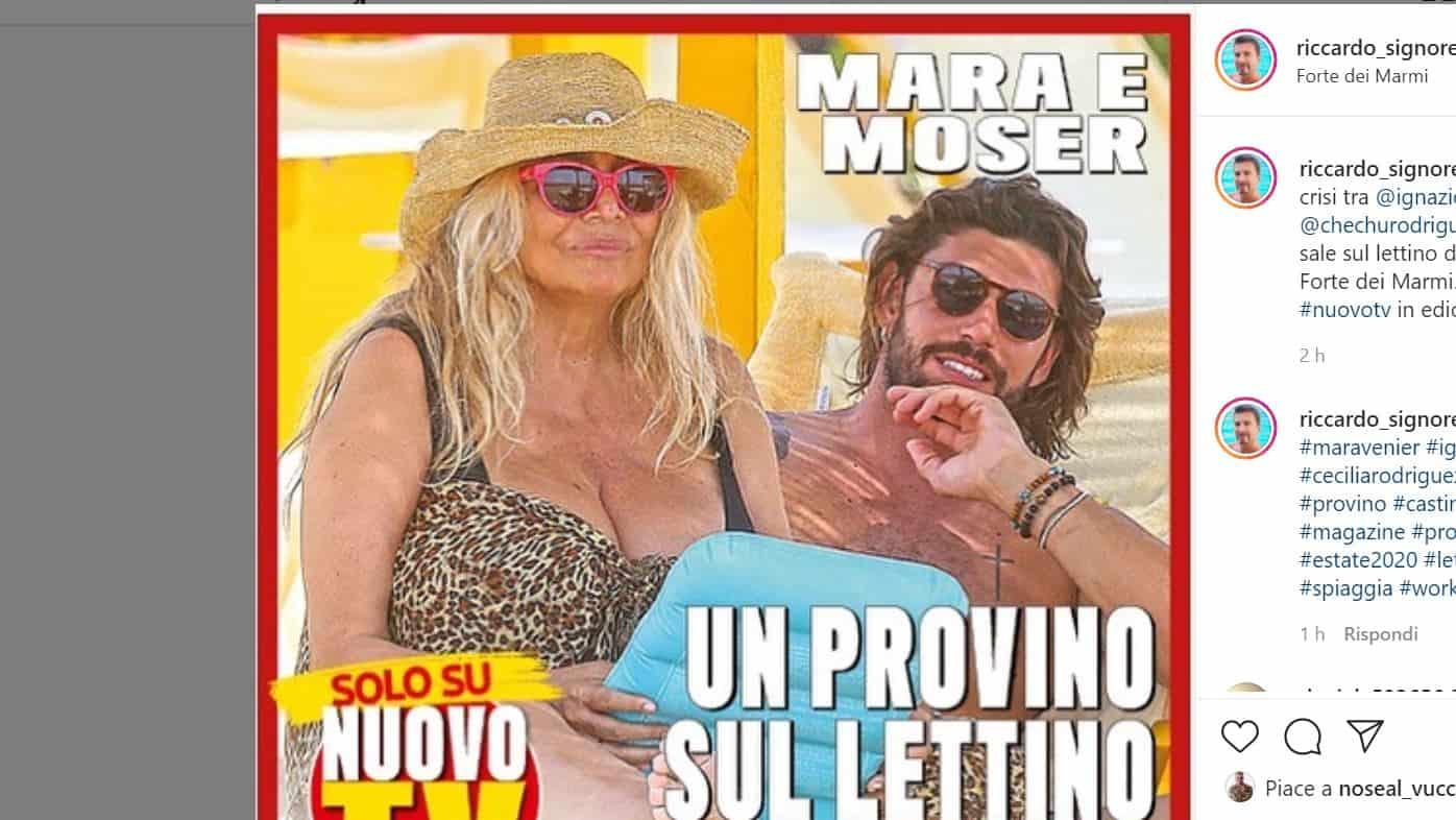Per Ignazio Moser un posto a Domenica IN con zia Mara?