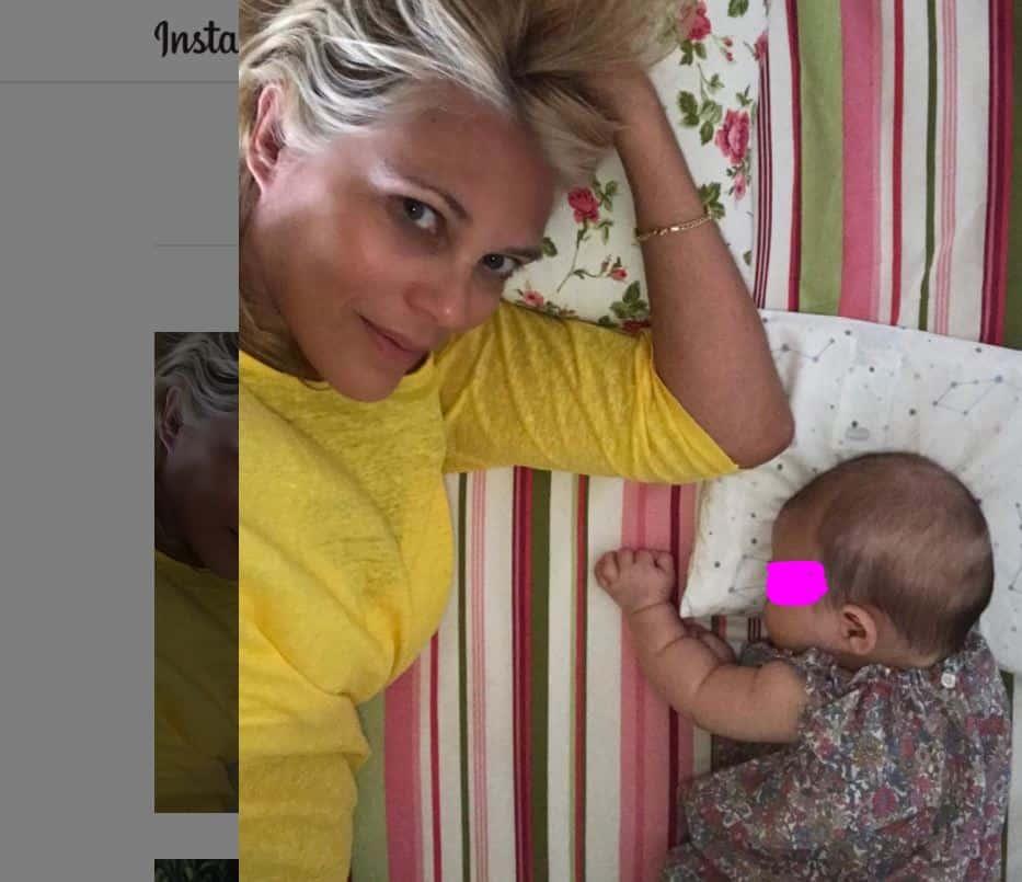 Il compleanno più dolce per Eleonora Daniele il primo da mamma con Carlotta
