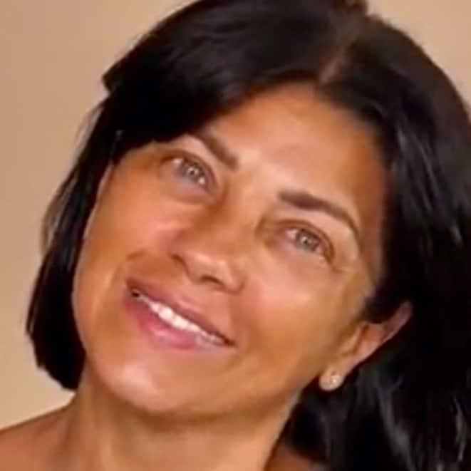 Ana Laura Ribas prima e dopo il trucco, consiglia il make up alle over 40 (Foto)